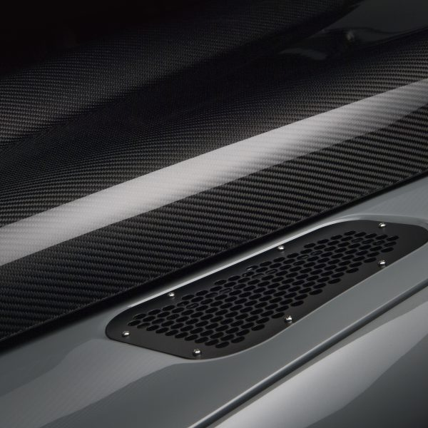 Land Rover Defender carbon fibre bonnet