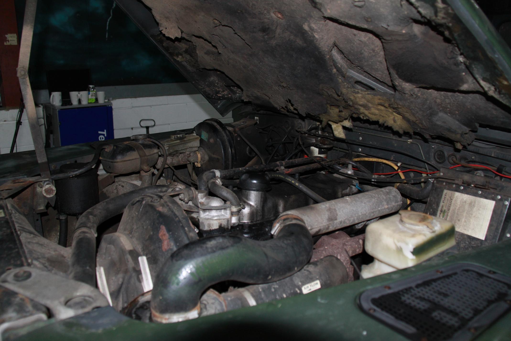 Land Rover Defender Restoration Project