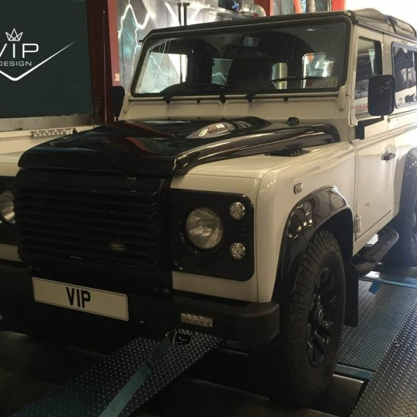 VIP Land Rover defender tuning
