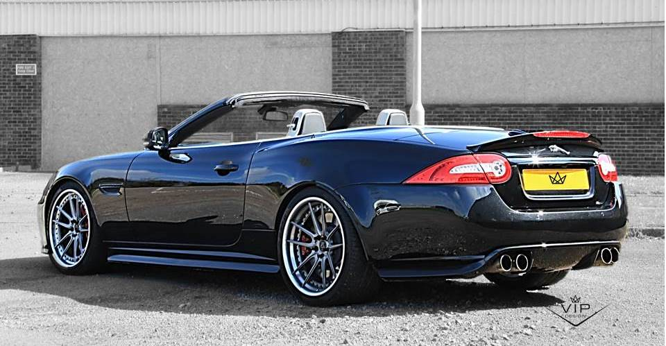 Jaguar XKR tuning