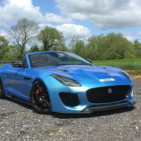 jaguar f type 650bhp tuning