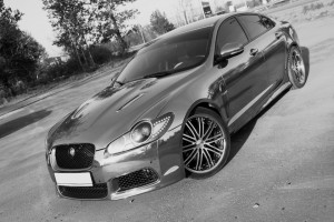 jaguar xf tuning and styling