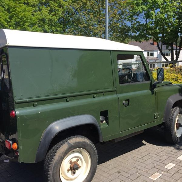 land rover defender 90 restoration