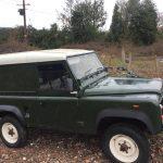 Land Rover Defender Restoration Vehicle