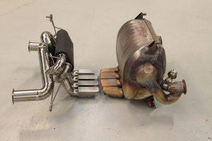 aventador titanium exhaust