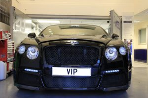 Bentley tuning viezu VIP