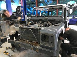 Land Rover Defender Restoration