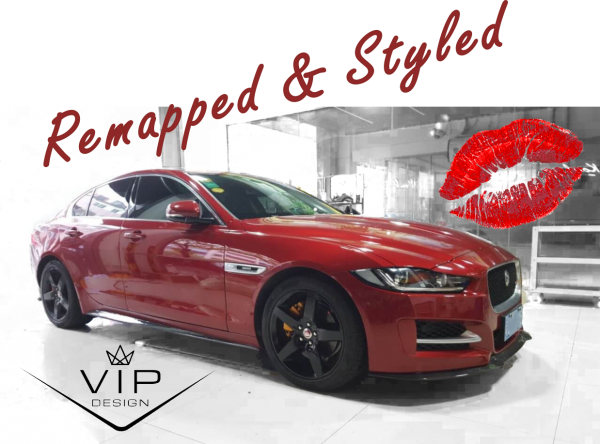 Jaguar XE Remapped