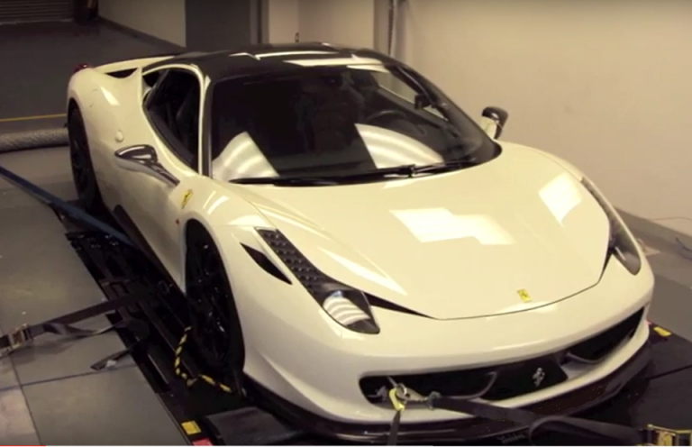 Ferrari 458 tuning and remapping
