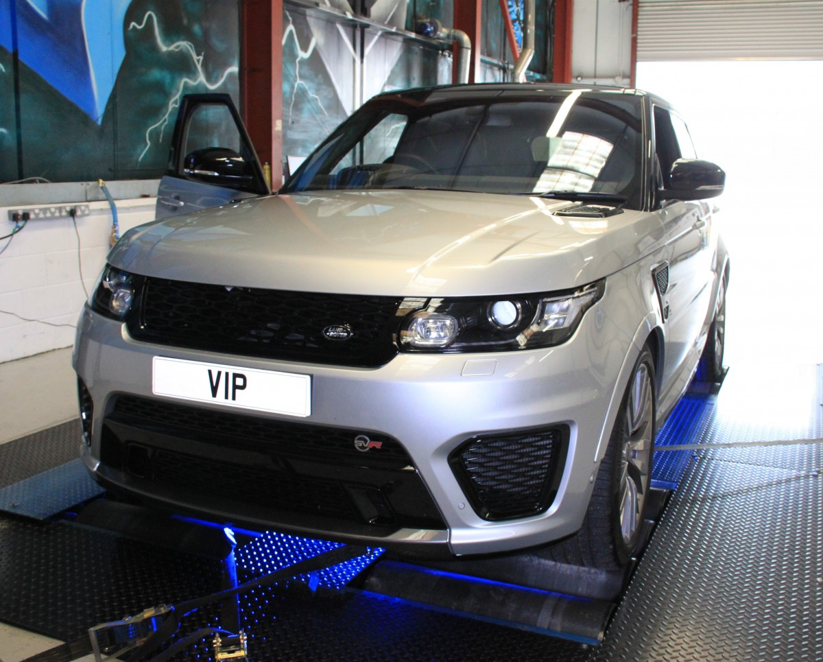 Range Rover SVR Performance Tuning and Upgrades