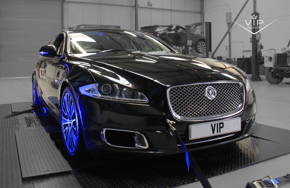 jaguar xj tuning and performance upgrade package from vip. Black Bedroom Furniture Sets. Home Design Ideas