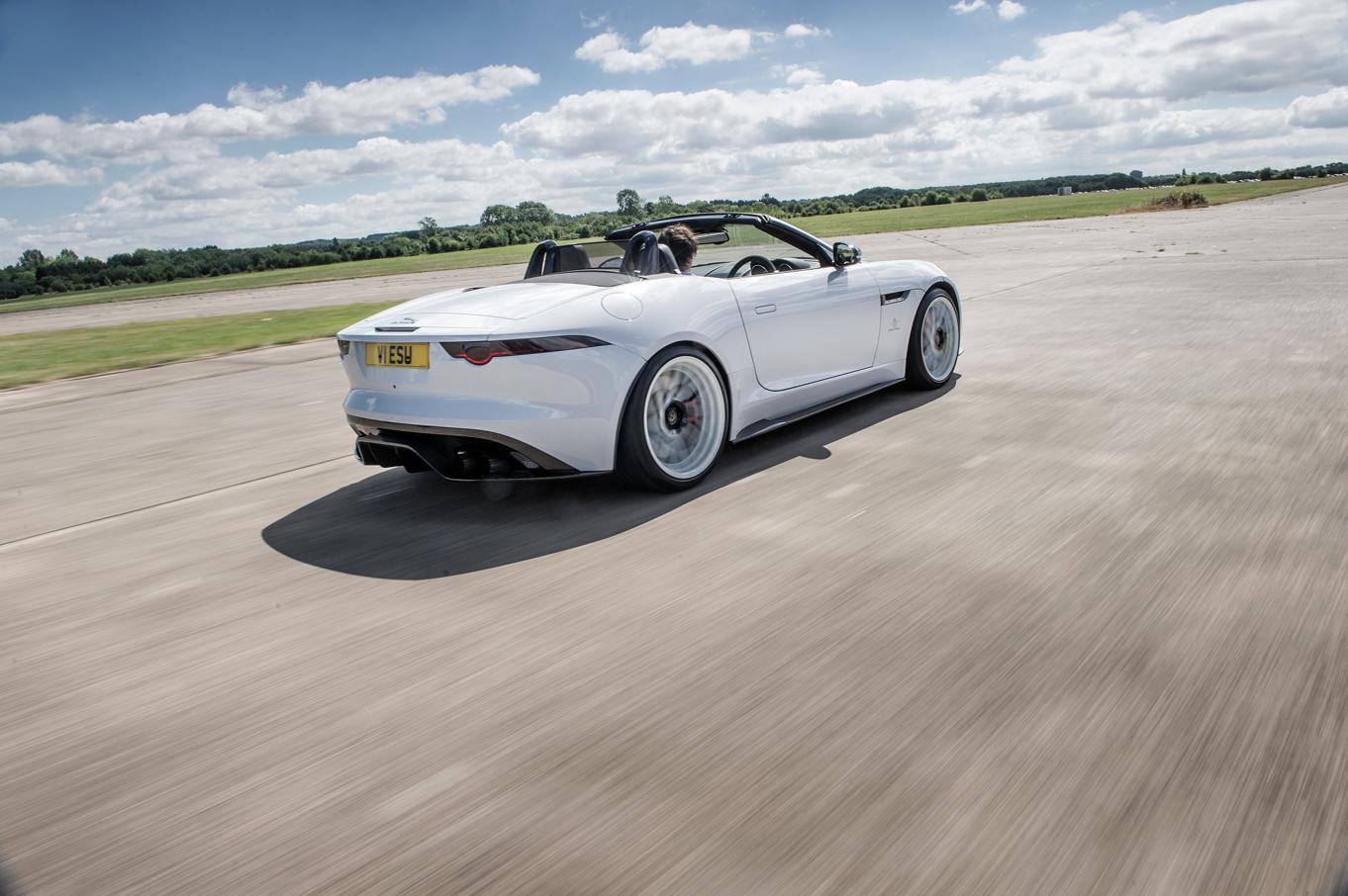 Jaguar F-Type Predator Tinted Rear Lights
