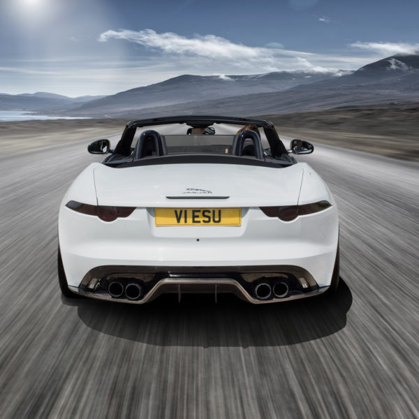 VIP Design Club Jaguar F-Type Predator 650bhp Tinted Rear Lights