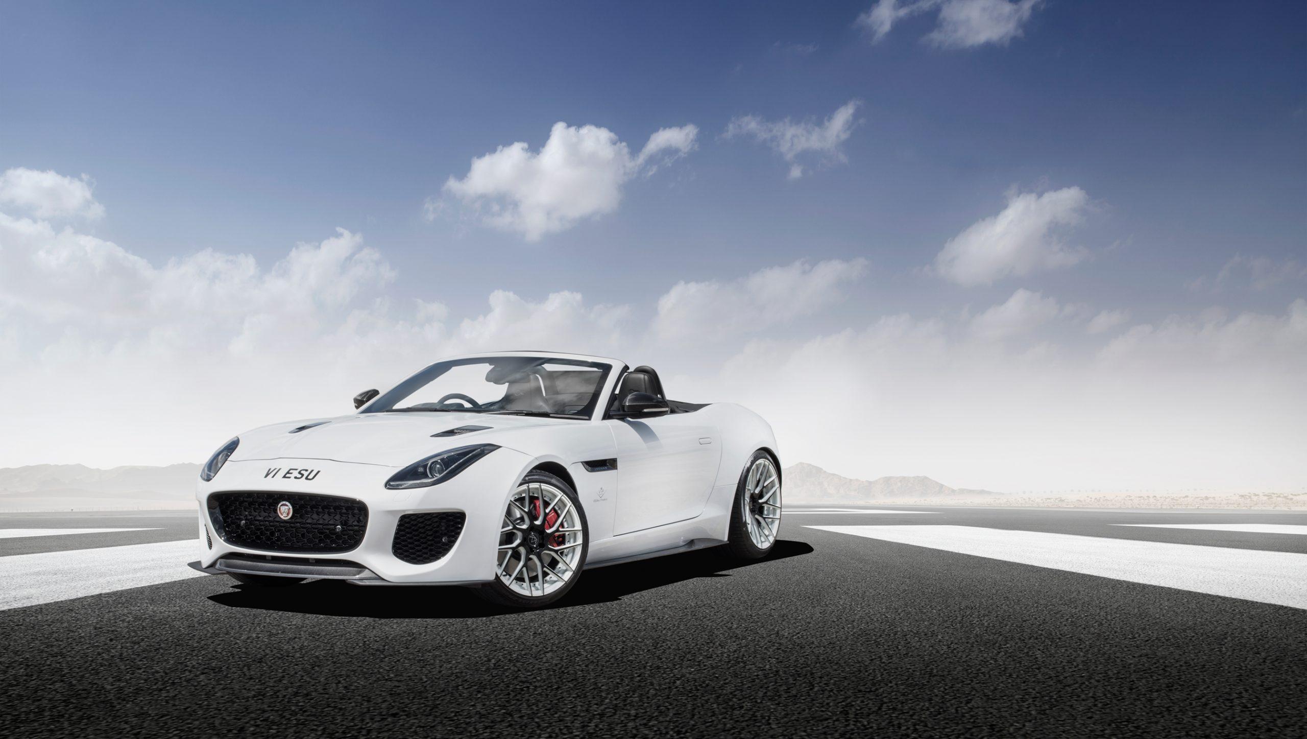 VIP Design Club Jaguar F-Type Project Carbon Fibre Front Bumper Trim