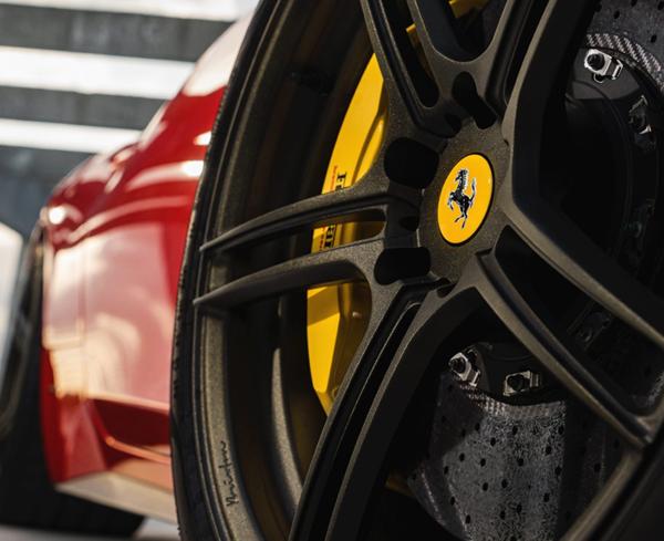 Ferrari 458 styling