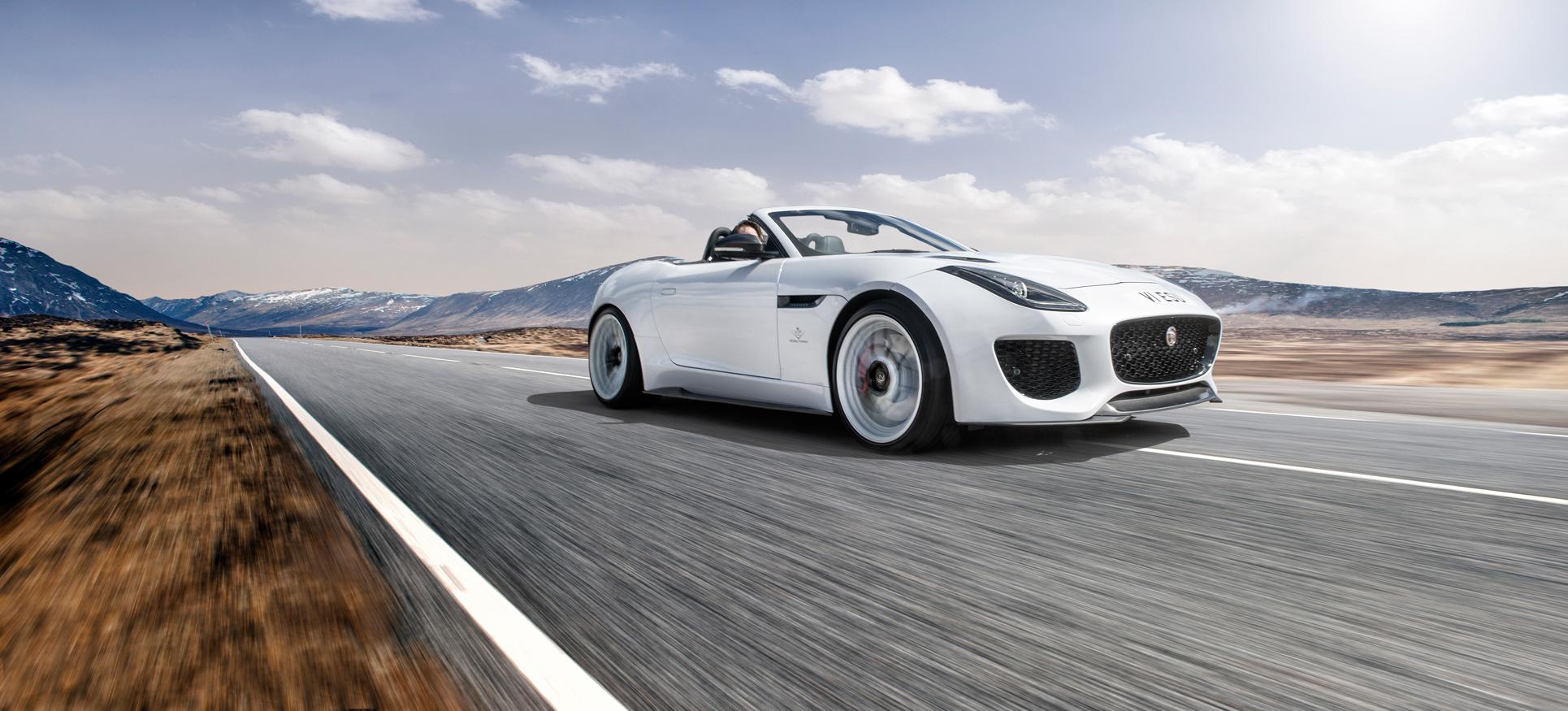 Jaguar F-Type Project Predator Bumper