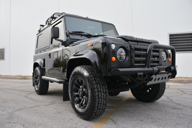 The VIP Design Project Land Rover Defender Upgrade Refurbisht