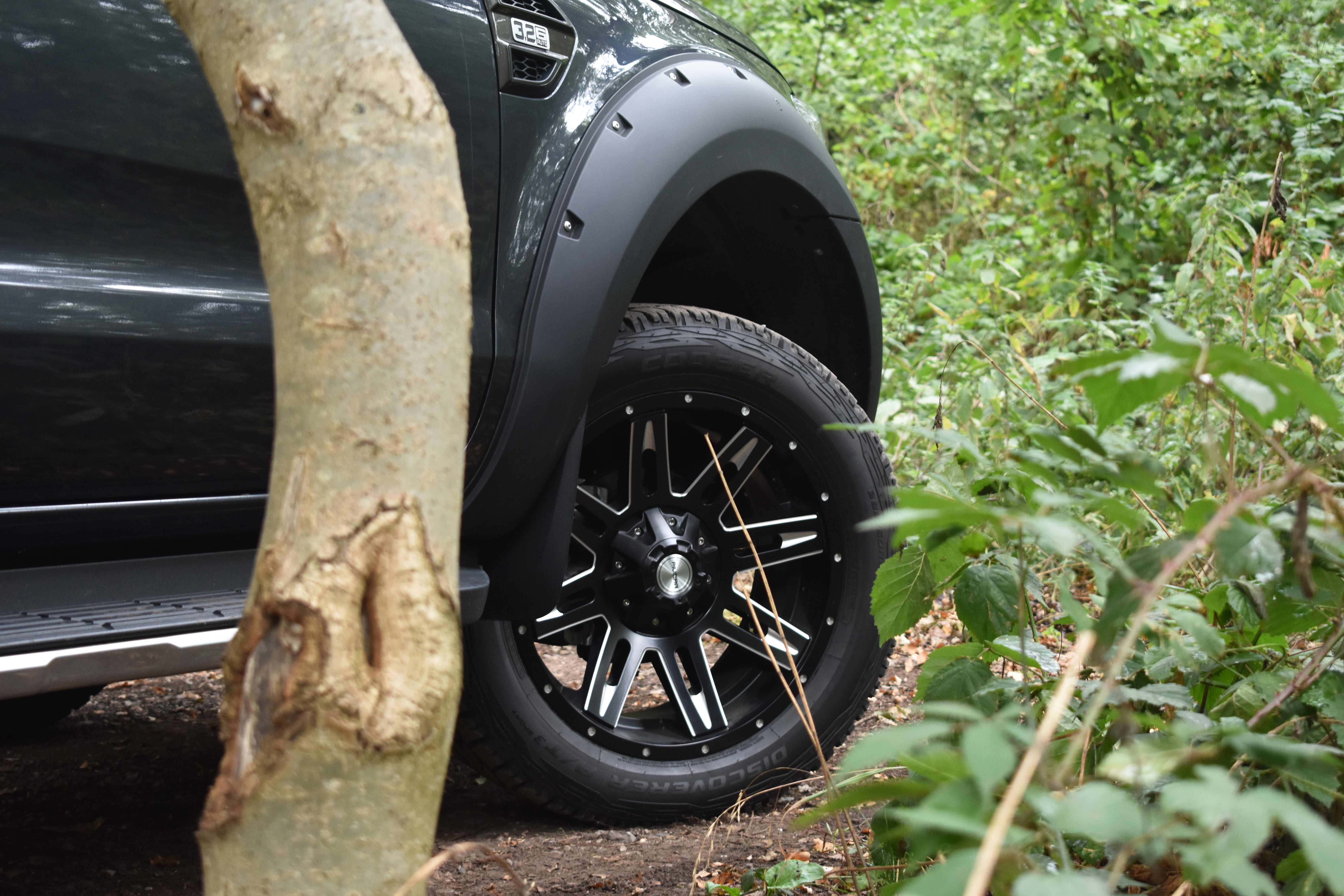 Ford Ranger Wildtrak Alloys Tyres and Wide Body Kit