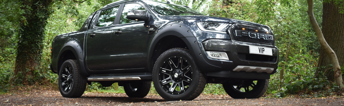 The Ford Ranger Mjölnir VIP Design Conversion