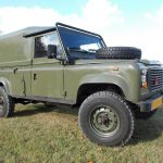 LHD land rover defender for sale