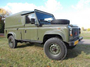 LHD land rover defender for sale