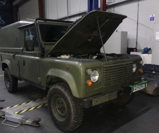 LHD land rover defender for sale (4)