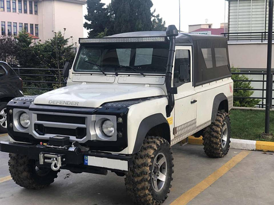 land rover defender lhd for sale