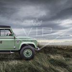 custom built Land Rover Defender