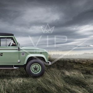 custom built Land Rover Defender