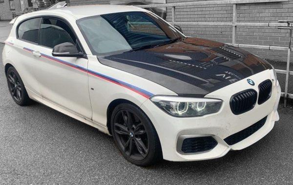 BMW Carbon fibre bonnet